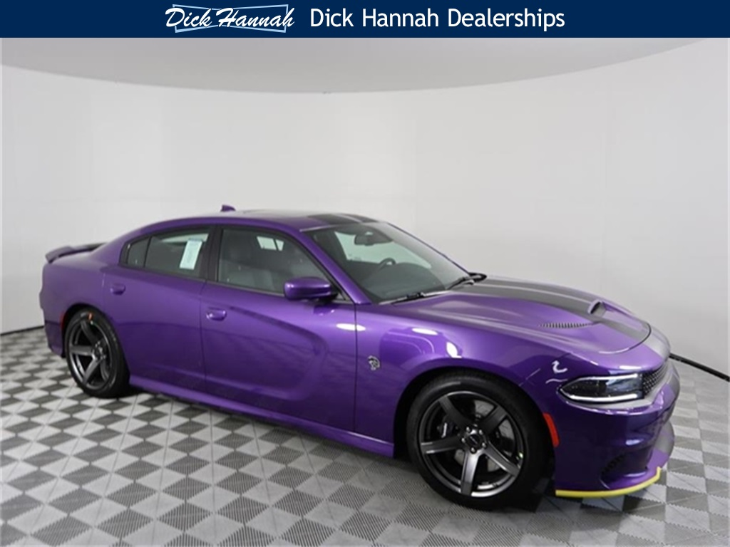 New 2018 DODGE Charger SRT Hellcat Sedan in Vancouver #CD18246 | Dick Hannah Chrysler Jeep Dodge Ram