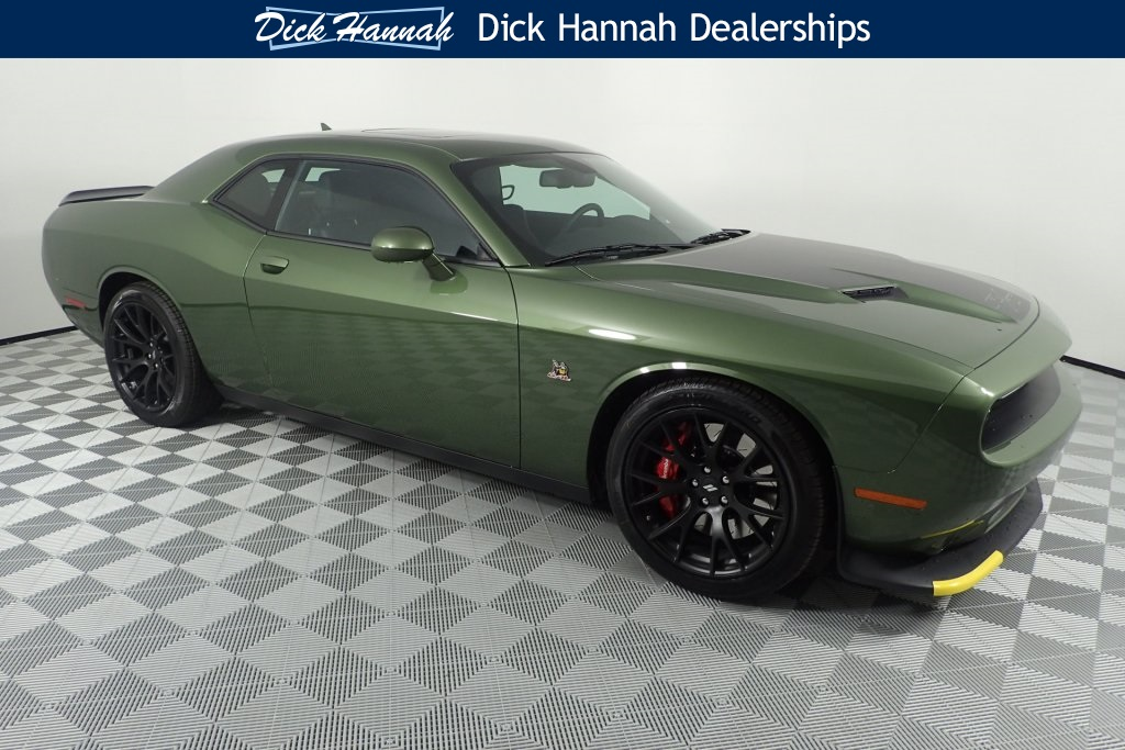 New 2018 Dodge Challenger R T Scat Pack Coupe In Vancouver
