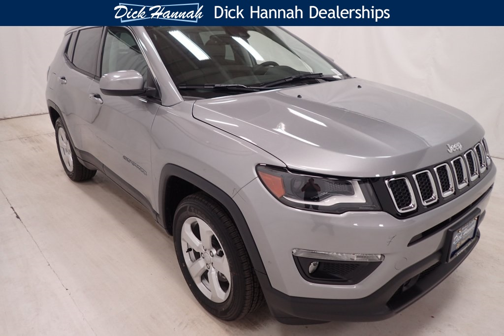 New 2017 Jeep Compass Latitude Sport Utility In Vancouver J17666