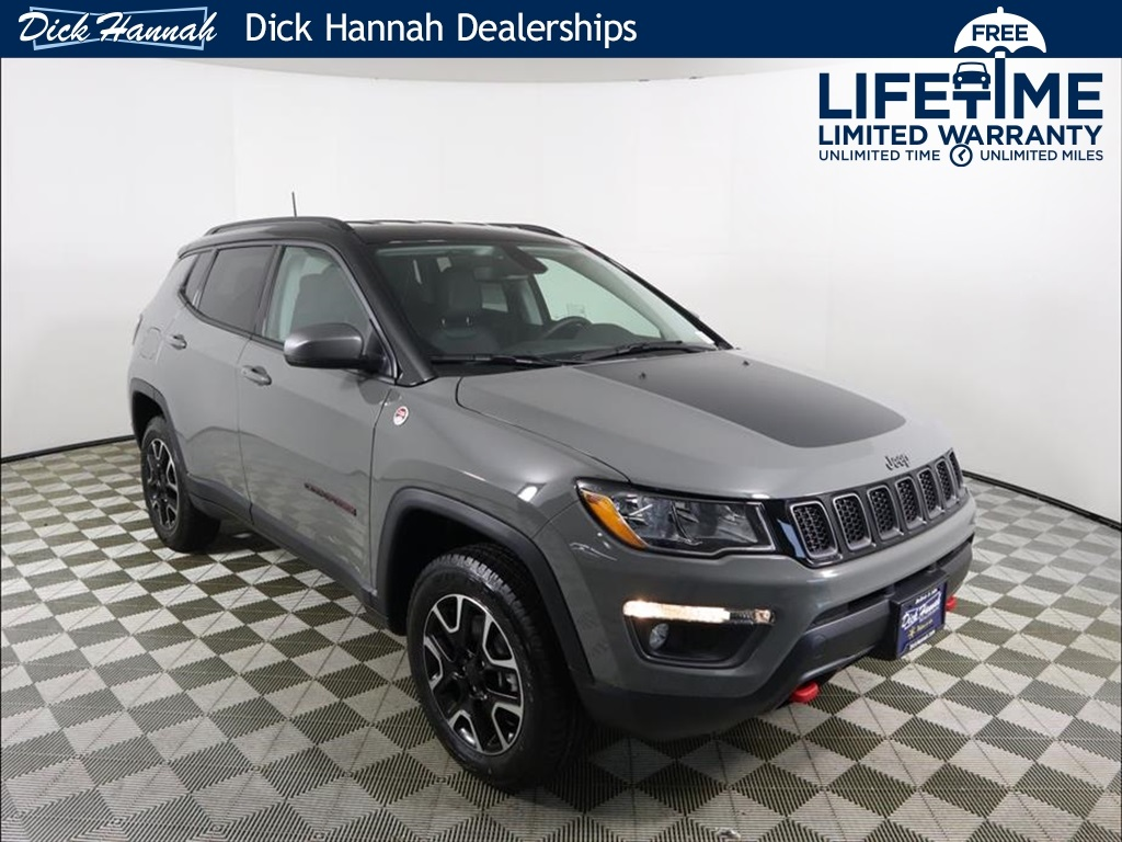 2020 Jeep Compass Trailhawk Sting Gray