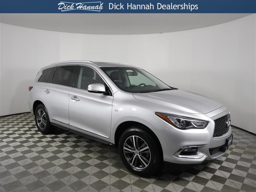 Pre Owned 2017 Infiniti Qx60 Base