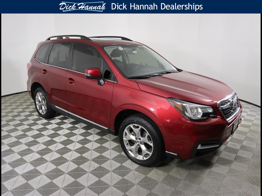 Pre Owned 2017 Subaru Forester 2 5i Touring