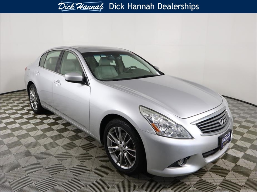 Pre-Owned 2011 INFINITI G37 X Limited Edition